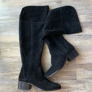 5306e767cdde Vince Camuto Shoes - Vince Camuto Kochelda Over the Knee Boots Suede